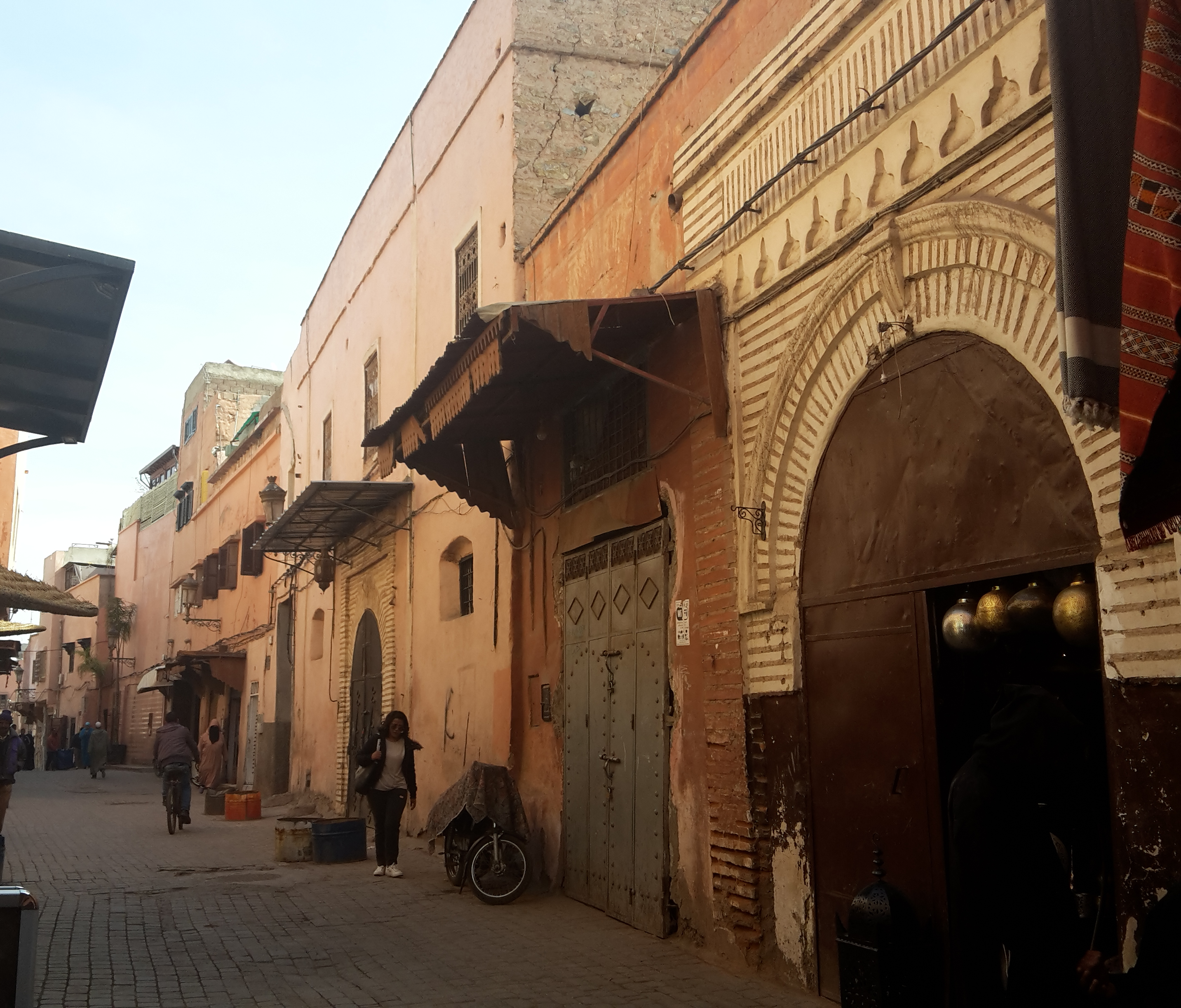 Getting Lost in the the Medina of Marrakech