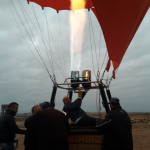 hot air balloon camel ride experience marrakech
