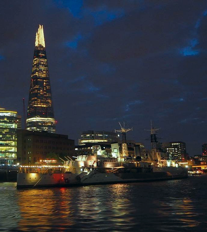 An Evening on the River Thames with City Cruises