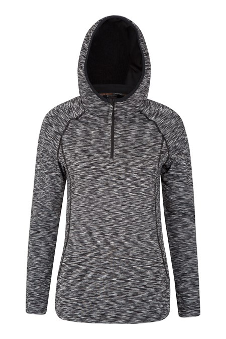 Mountain Warehouse ISOCOOL Dynamic Chakra Hooded Womens Midlayer