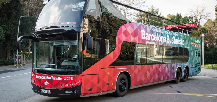 The Hop-On Hop-Off Bus of Barcelona