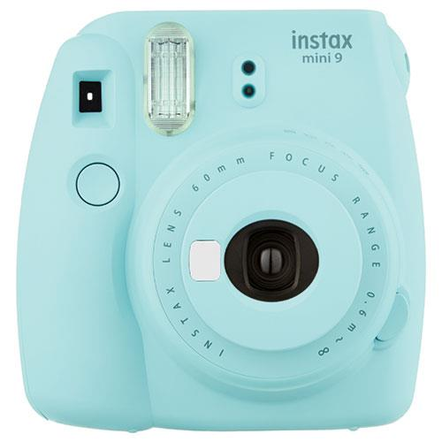 Instax Mini 9 Instant Camera in Ice Blue with 10 Shots