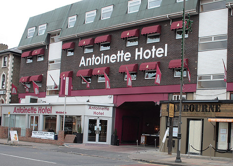 Checking In To Antoinette Hotel Wimbledon London